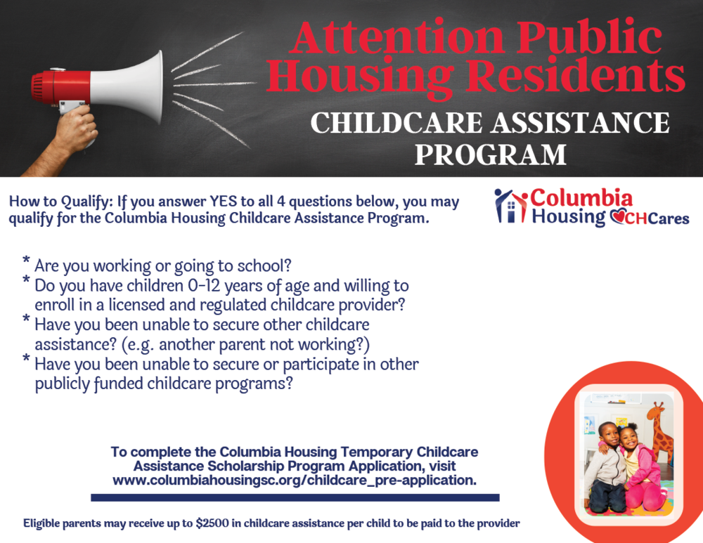 Childcare Assistance Scholarship Program Now Taking Applications