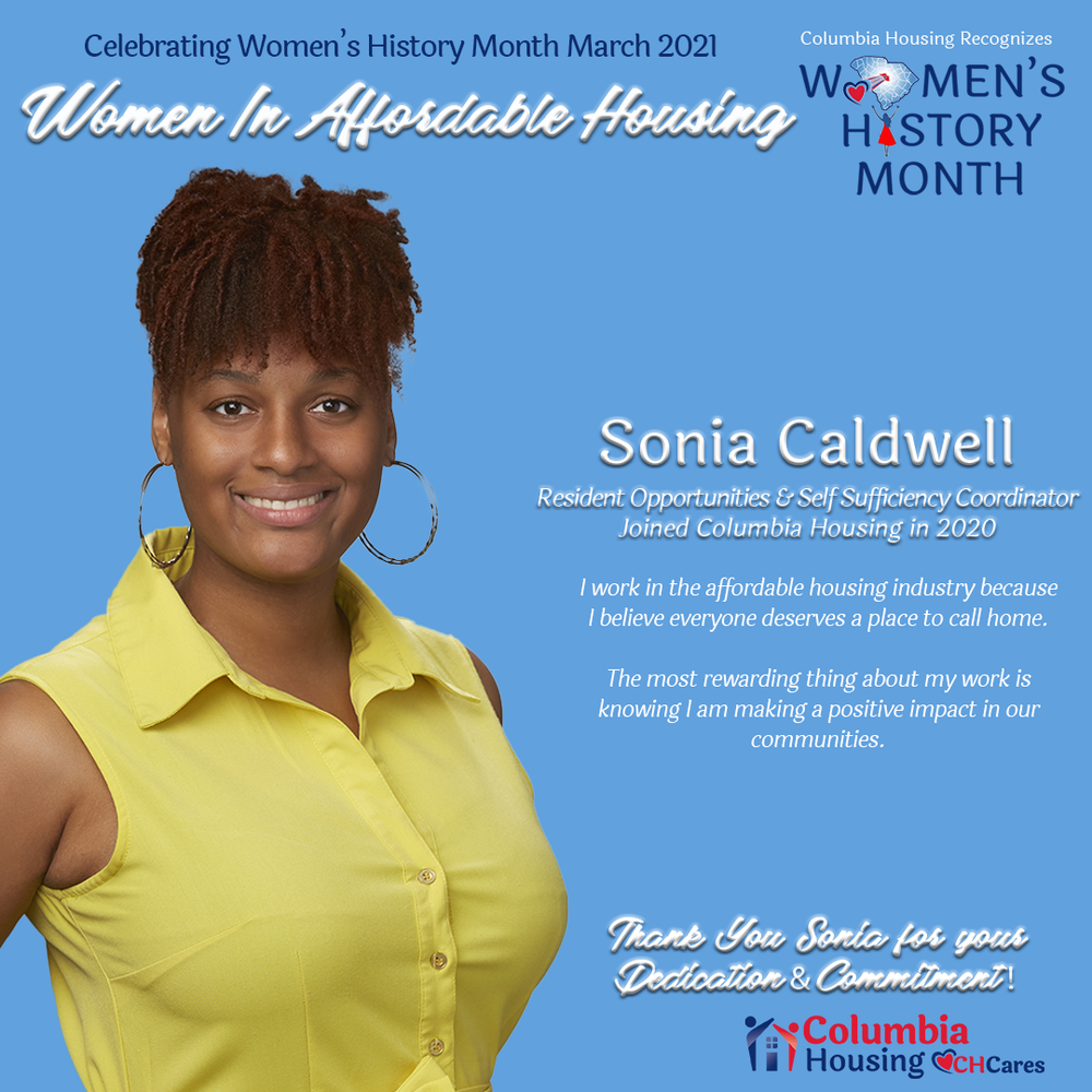 Celebrating Women in Affordable Housing - Sonia Caldwell