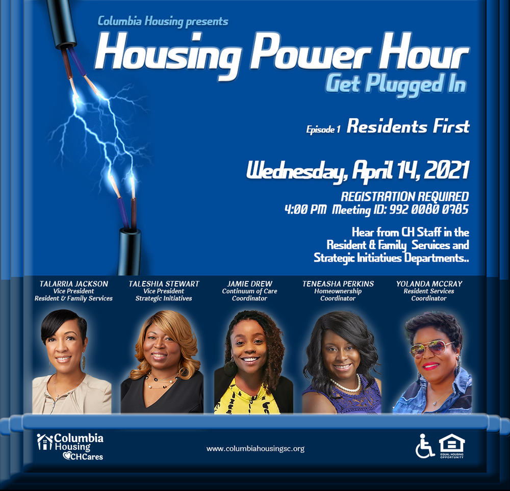 Housing Power Hour - Residents First, April 14, 2021
