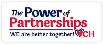 The power of partnerships logo