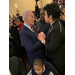 Interim Executive Director Ivory Mathews and Vice President Joe Biden